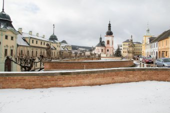 Historické jádro města Manětín