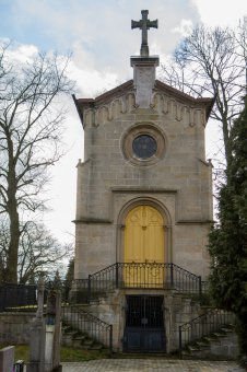 Hřbitovní kaple v Městě Touškově