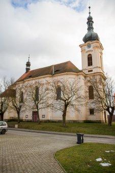 Kostel sv. Jana Křtitele v Městě Touškově