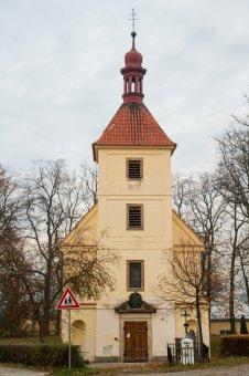 Kostel sv. Michaela Archanděla v Oboře