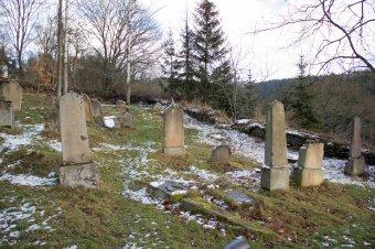 Židovský hřbitov v Rabštejně nad Střelou