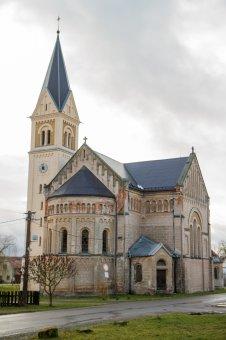Kostel sv. Josefa v Úhercích