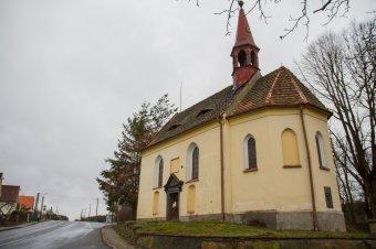 Kostel sv. Vavřince v Úlicích