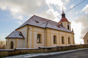 Kostel sv. Jakuba Většího v Žebnici