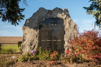 Pomník hornické katastorfy v Chomli