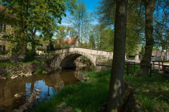 Silniční most v Dobřívu