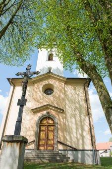Kostel sv. Václava v Líšné