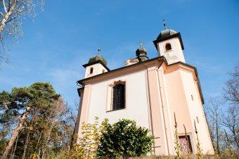 Kostel Navštívení Panny Marie na Vršíčku u Litohlav