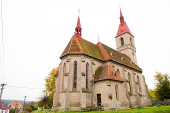 Kostel Nejsvětější Trojice v Mešnu