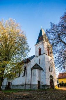 Kostel Nejsvětější Trojice v Mlečicích