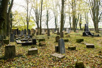 Židovský hřbitov v Radnicích