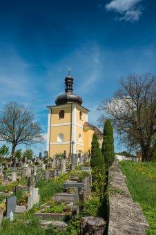 Kostel sv. Vavřince ve Strašicích