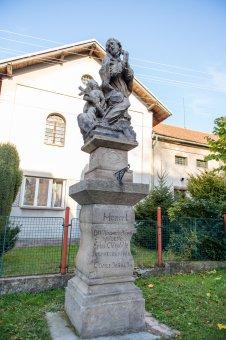 Socha sv. Jana Nepomuckého v Terešově