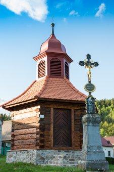Kaplička v Těškově
