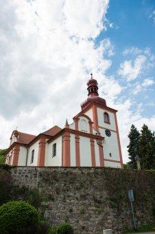 Kostel sv. Mikuláše ve Zbirohu