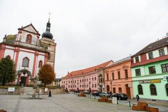 Historické jádro města Bor u Tachova