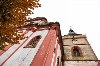 Kostel sv. Mikuláše v Boru u Tachova
