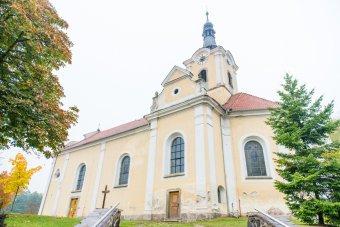 Kostel sv. Jana Křtitele v Chodové Plané