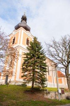 Kostel sv. Jakuba Většího v Kladrubech