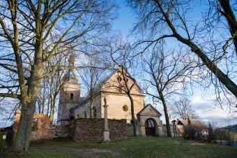 Kostel sv. Martina v Křivcích