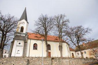 Kostel sv. Jana Křtitele v Okrouhlém Hradišti