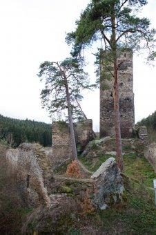 Zřícenina hradu Gutštejn