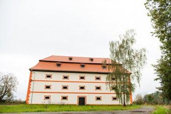 Sýpka v Olešné