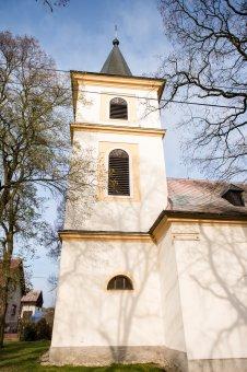 Kostel sv. Bartoloměje v Ošelíně