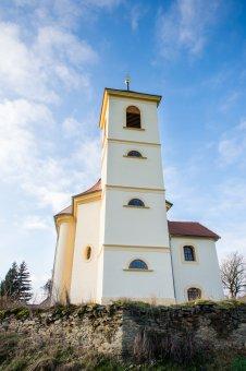 Kostel sv. Vavřince ve Slavicích