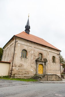 Kostel sv. Jana Křtitele ve Stráži