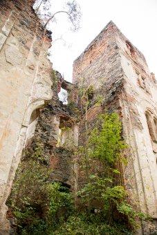 Paulánský klášter se zříceninou kostela ve Světcích (čp. 1)